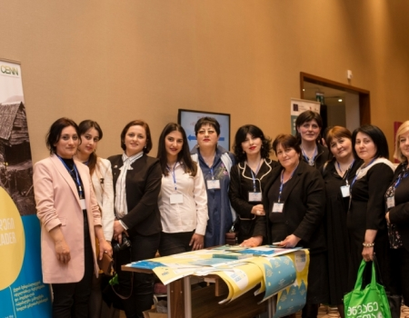 EU-supported women from Keda and Khulo municipalities participate in the National Women Business Forum