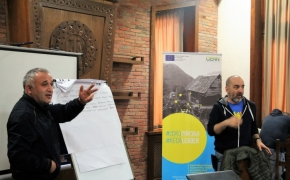 EU-supported Training on Project Writing for the grant applicants was held in Keda