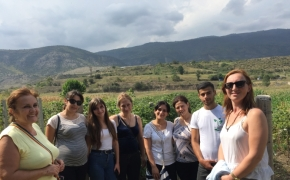 Rural Women from Keda Municipality Joined the International Harvest Festival in Armenia