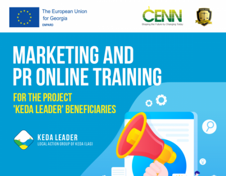 EU Supported Marketing and PR Online Training in Keda Municipality