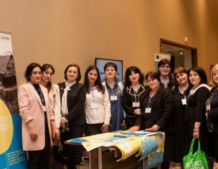 ევროკავშირის მიერ მხარდაჭერილმა ქალებმა ქედისა და ხულოს მუნიციპალიტეტებიდან მეწარმე ქალთა ეროვნულ ბიზნეს ფორუმში მონლეობა მიიღეს